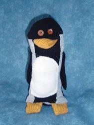 Mercator Cooper Penguin by RedDragonfly