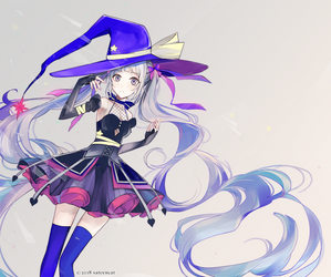 spacey witch by sateencat