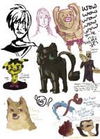 sketch dump weeee by ZeSpicySeahorse