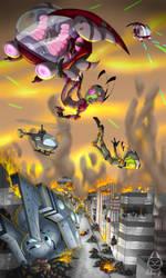 Commission - War Zone by Mellea-Jo
