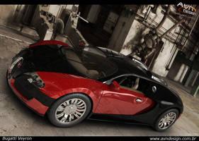 Bugatti Veyron by betoavn