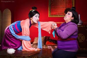 Mulan and Matchmaker - Disney by Matsu-Sotome
