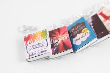 John Green Miniature Book Bracelet by Saint-Rise