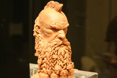 DWARF SLAYER bust sculpture by giolord11