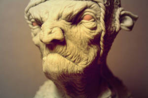 My Troll Sculpture by giolord11