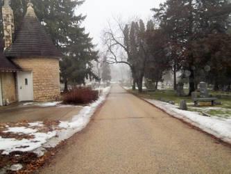 An Empty Cemetery by Pan-Zareta