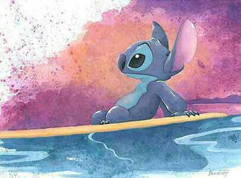 stitch by the ocean  by lhh101