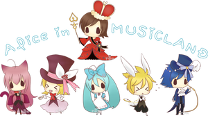 Alice in Musicland by r3nisa