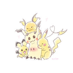 More Mimikyu Love~ by r3nisa