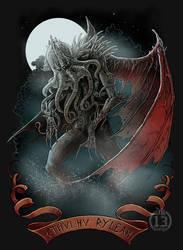 Cthulhu Ry'leah by DK13Design