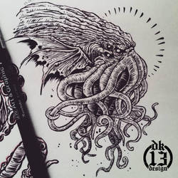 Cthulhu by DK13Design