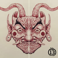 Demon's Mask by DK13Design