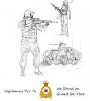 Canadian Forces Land Command by Ravajava