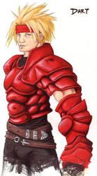 Red Dart by Kuroi-Koumori