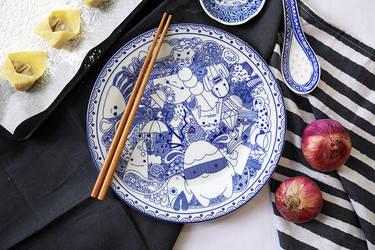 KARIN: MONSTER PLATTER DINNERWARE by karinkhoo