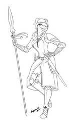 Verenthia, the Dancer by killakan626