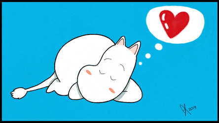 Moomin Is Sleeping by shanemcgovern313