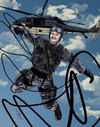 Navy Man by JoeGrafix