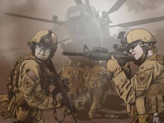 Desert Rescue by JoeGrafix