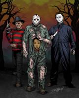 80's Horror by JoeGrafix