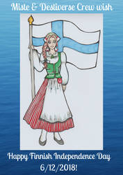 Happy Finnish Independence Day by Corppu