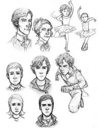 Sherlock S3 Sketches by MexicanSushi