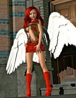 Big City Angel by teturo
