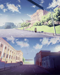 Moscow Streets Concepts by Kuvshinov-Ilya