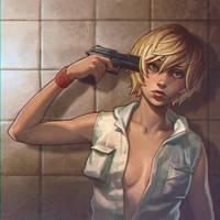 Heather Silent Hill 3 by Kuvshinov-Ilya