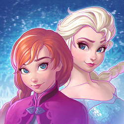 Frozen by Kuvshinov-Ilya