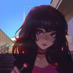 Ghost by Kuvshinov-Ilya