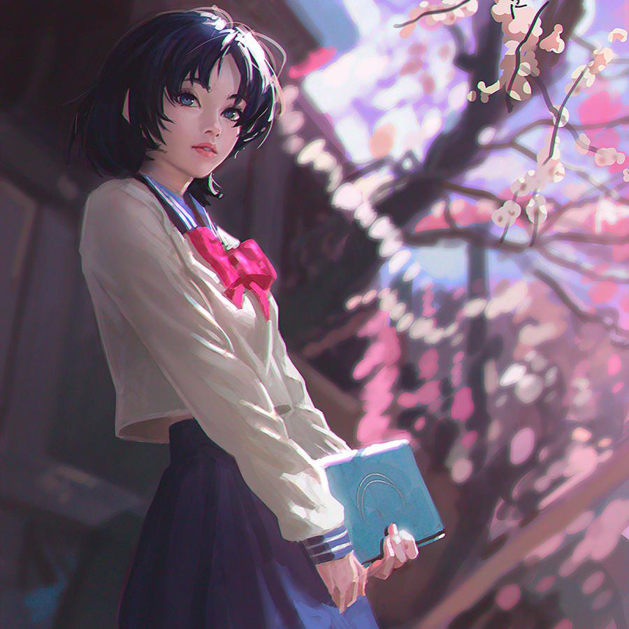 Sailor Mercury by Kuvshinov-Ilya