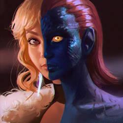 Mystique by Kuvshinov-Ilya