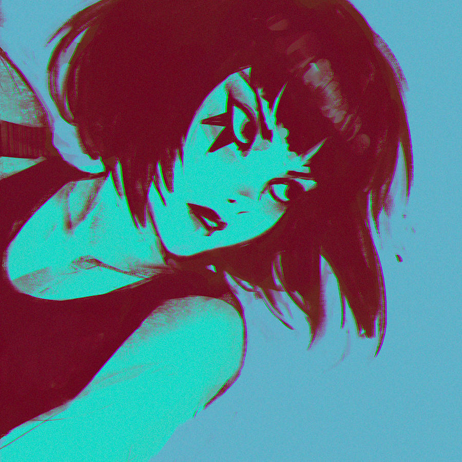 Mirror's Edge sketch by Kuvshinov-Ilya