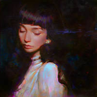 Lilies by Kuvshinov-Ilya