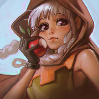 Dragon's Crown Elf sketch by Kuvshinov-Ilya