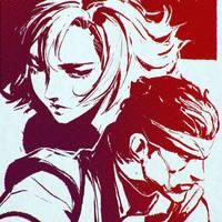 Metal Gear Solid by Kuvshinov-Ilya