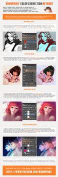 Color Correction Methods by Kuvshinov-Ilya