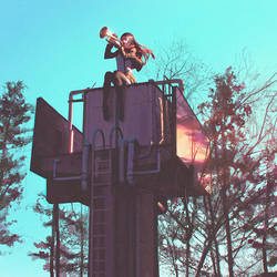 Trumpet Tower by Kuvshinov-Ilya