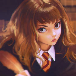 First Year Hermione by Kuvshinov-Ilya