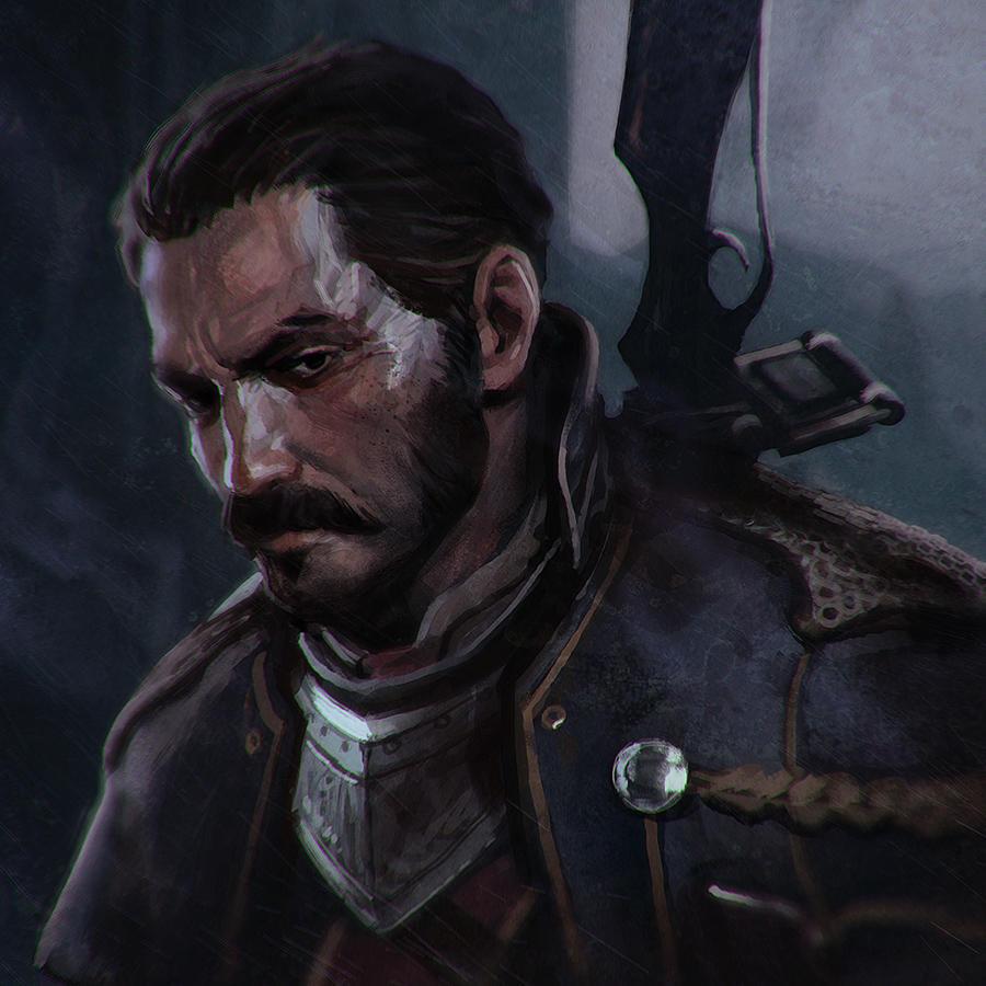 Sir Galahad by Kuvshinov-Ilya