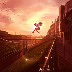 Leap by Kuvshinov-Ilya