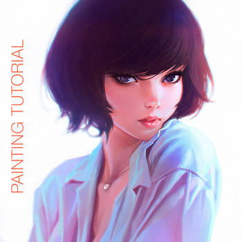 Painting Tutorial Video by Kuvshinov-Ilya