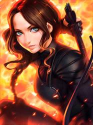 Katniss by Kuvshinov-Ilya