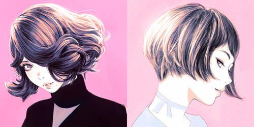 pinks by Kuvshinov-Ilya