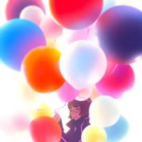 balloons by Kuvshinov-Ilya