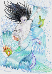Orochimaru: Aquarius by Choryunami