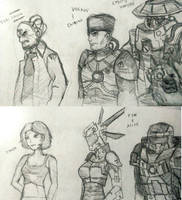 Some Mental Omega Drawings by Midian-P