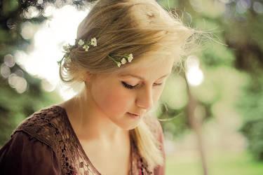 Young girl by Emmatyan