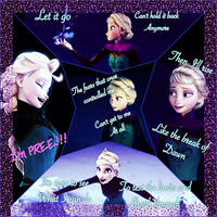 Elsa collage by AmandaFrost